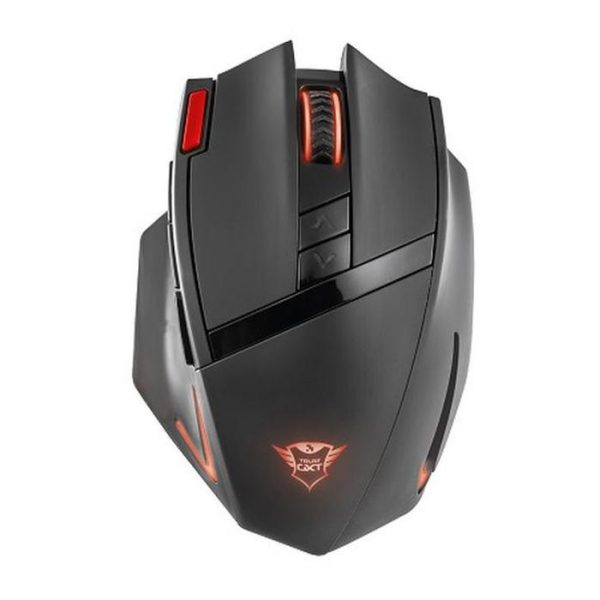 MOUSE INALAMBRICO TRUST GXT 130 RANNO NEGRO GAMER